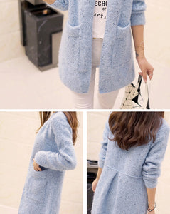 Crochet Cardigan Women Sweater