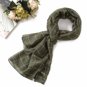 plaid shawls and wraps
