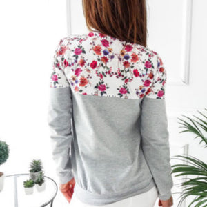 Autumn Girls Print Hoodie Sweatshirt Casual