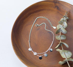 silver Fine Jewelry Multi-Layers Polished  Round - Narvay.com