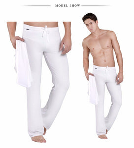 Drawstring Sleep Bottoms Men