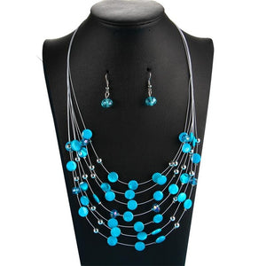 Bridal Wedding Jewelry Sets Ladies Charm