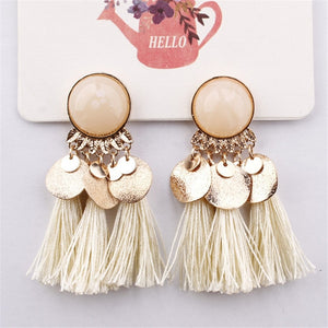 Sequins Tassel Earrings for Women