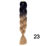 Synthetic Braiding Hair Crochet Blonde