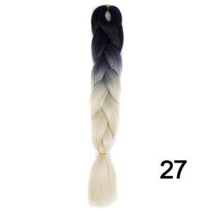 Synthetic Braiding Hair Crochet Blonde - Narvay.com