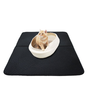 Double-Layer Cat Litter Trapper Mats
