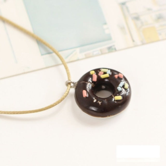 Ceramic Pendant Necklace