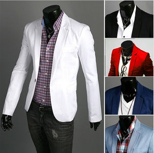 Men's Casual Slim Fit Suit blazer
