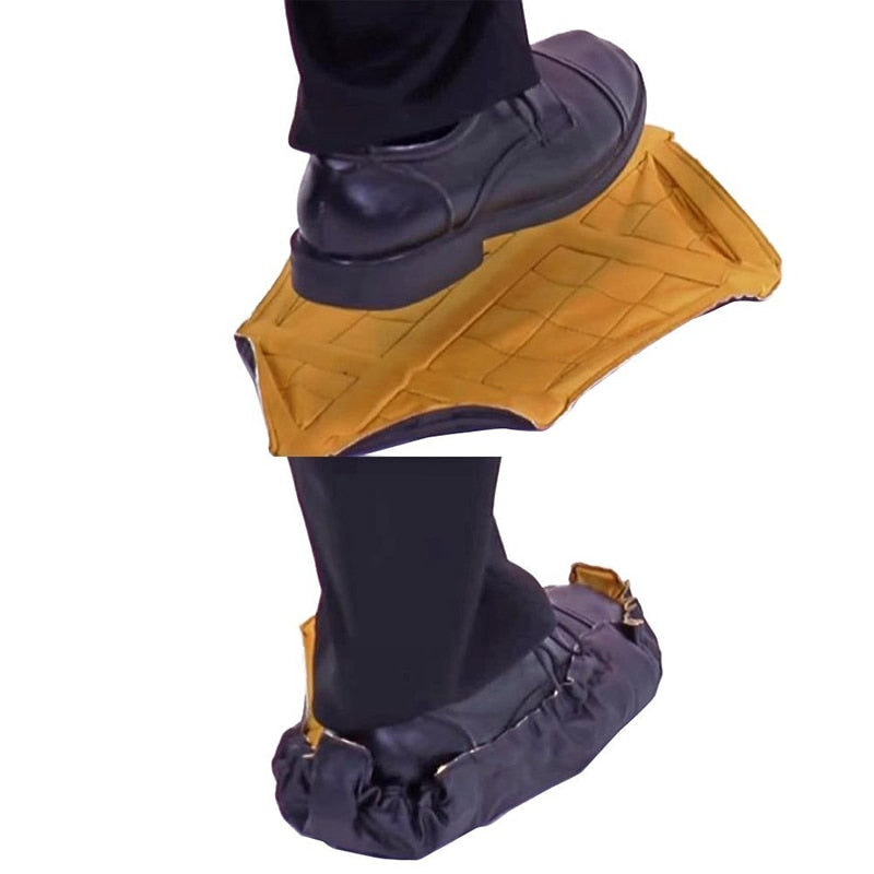 Step In Sock Hands Free Shoe Covers Reusable Shoe Boot Cover Durable Portable