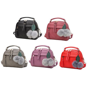 Girl Messenger Bags with Ball Toy