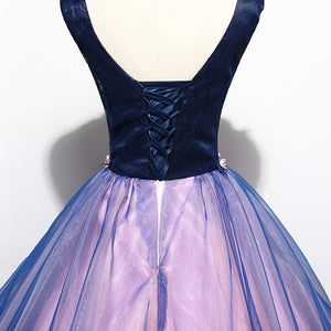 Quinceanera Dresses Prom Sleeveless Sexy V-neck Party Dress