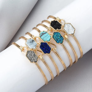Hot Resin Cuff Bracelets Bangles for Women
