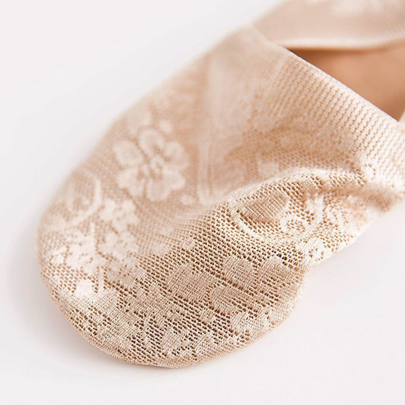 Summer Style Lace Flower Short Sock