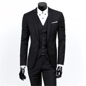 business casual waistcoat trousers blazer