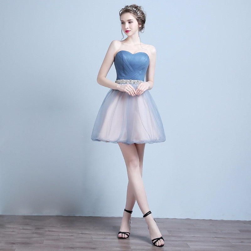 Strapless Ball Gown Formal Dress Bride Banquet