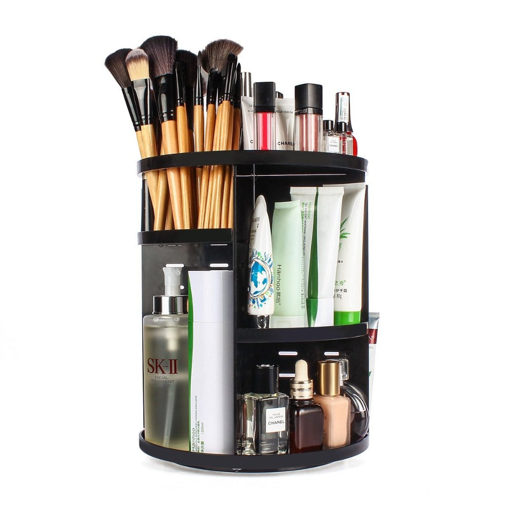 Rotating MakeUp Organizer 360-Degree