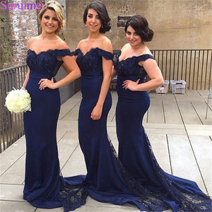 New Arrival Red Burgundy Mermaid Bridesmaid Dresses