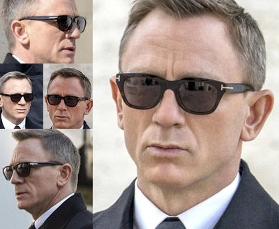 Square James Bond Sunglasses Men