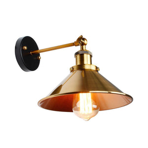 Vintage Loft Led Wall Lamp For Home Industrial Decor