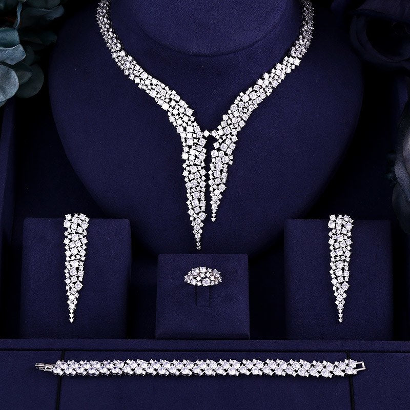 Luxury Wedding Bridal jewelry sets - Narvay.com
