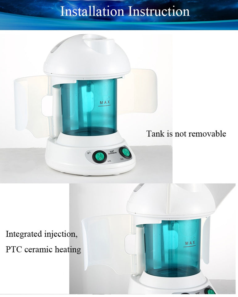 Face Hair Steamer Humidifier For Facial