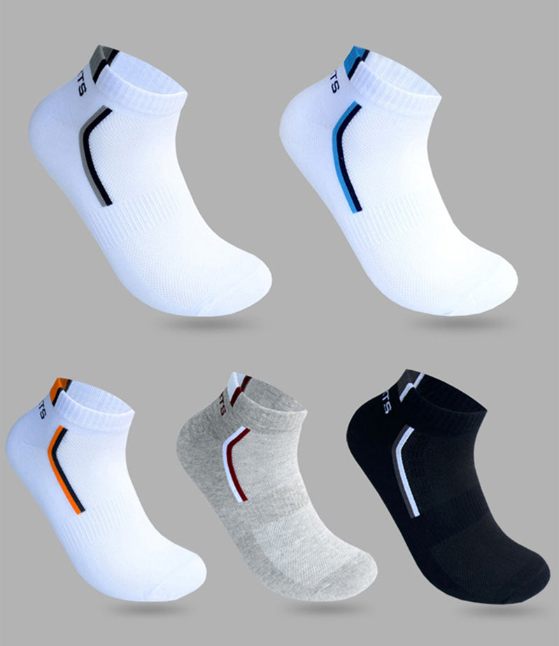 Male Boat Socks Shallow Mouth Absorb - Narvay.com