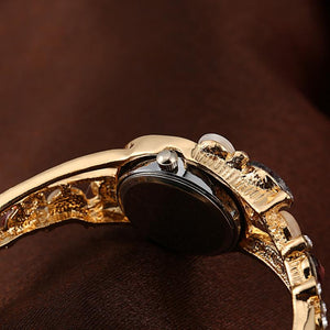 Luxury Crystal Flower Wrist Watch