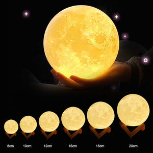 ZINUO Rechargeable Moon Lamp