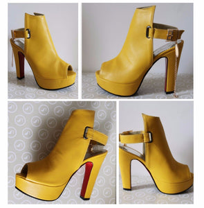 Spring Peep Toe Gladiator High Heels