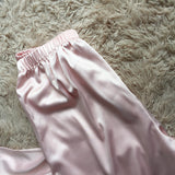 Women Pajamas Sets Satin Sleepwear