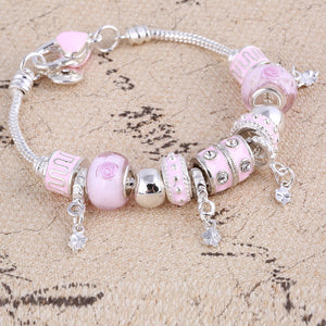 Crystal Silver Bracelets & Bangles for Women