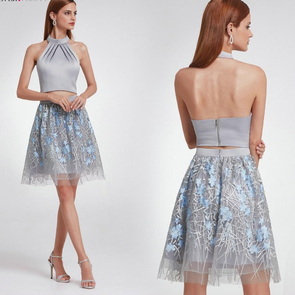 Lace Two Pieces Homecoming Dresses