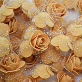 Rose Heads Artificial Silk Flowers