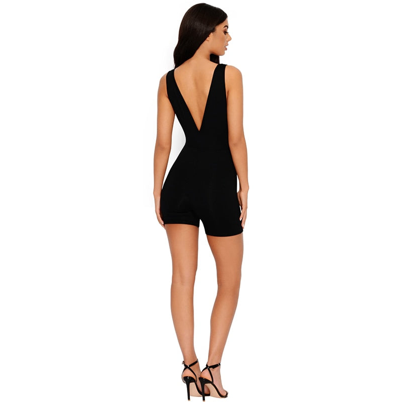Sexy Plus Size Playsuit Jumpsuits For Women