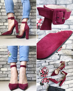 strap Heels Classic Heeled Sandals