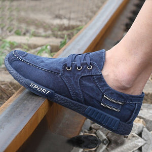 Canvas Denim Loafers