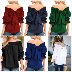 Sexy Off Shoulder Tops Spring Summer - Narvay.com