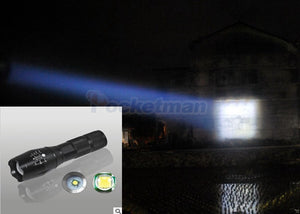 LED Rechargeable Flashlight linterna torch