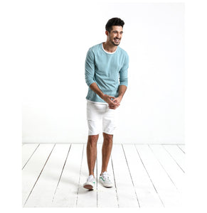 Spring New Fake Double Layered T-Shirt