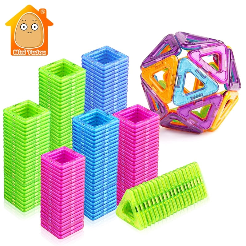Magnetic Blocks Educational Construction