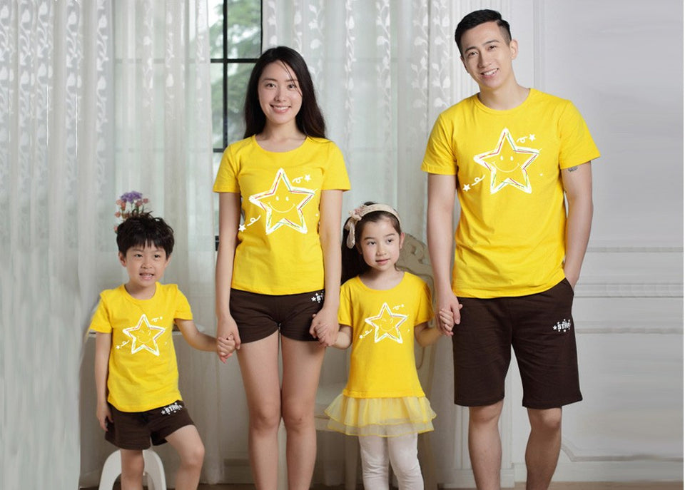 Family Matching Clothes T-Shirts Christmas