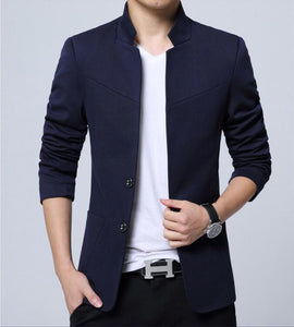 Blazer Men High Quality Suit Jacket