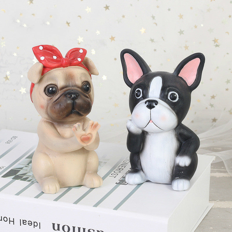 Resin Glasses Holder Stand Dog Animal