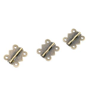 NAIERDI Mini Butterfly Door Hinges
