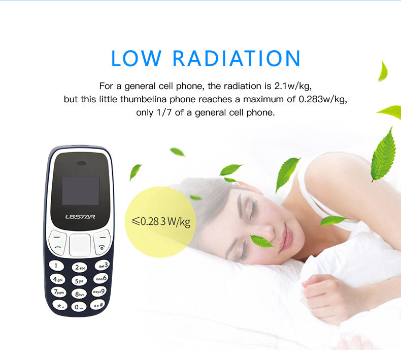 Dialer Pocket Dual SIM Card Pocket Phone