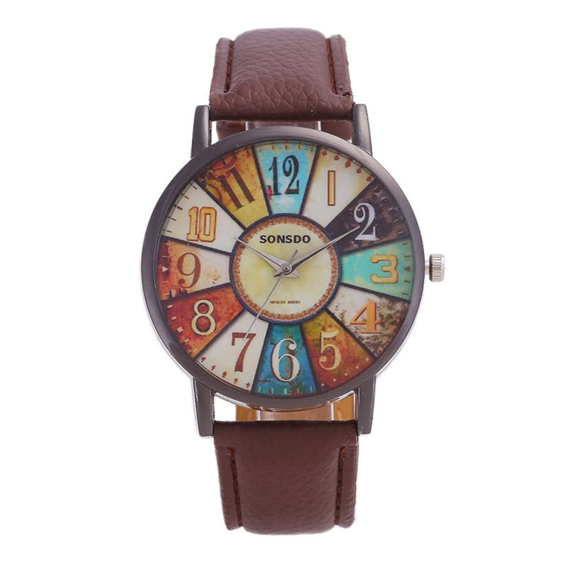 Retro Casual Girl Casual Watches