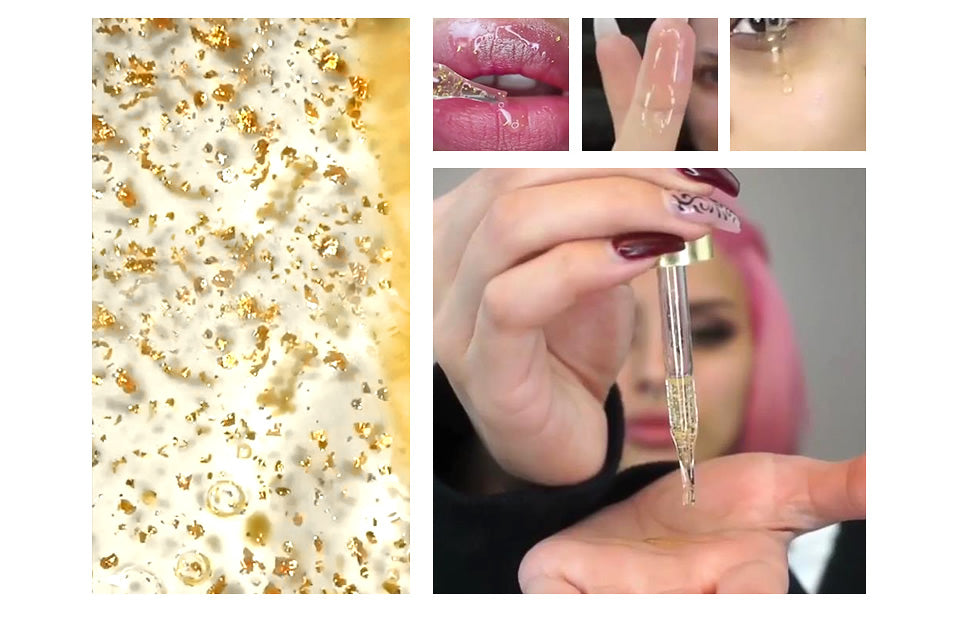 Gold Anti Aging Lip Oil