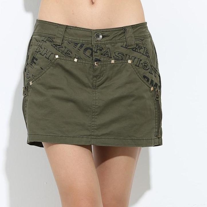 Casual Saias Jupe Skirts Shorts