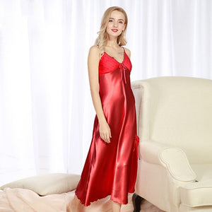 Nightgowns Satin Sleepwear