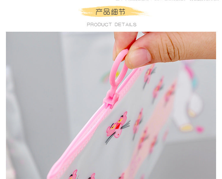 Transparent PVC Document Bag File Folder